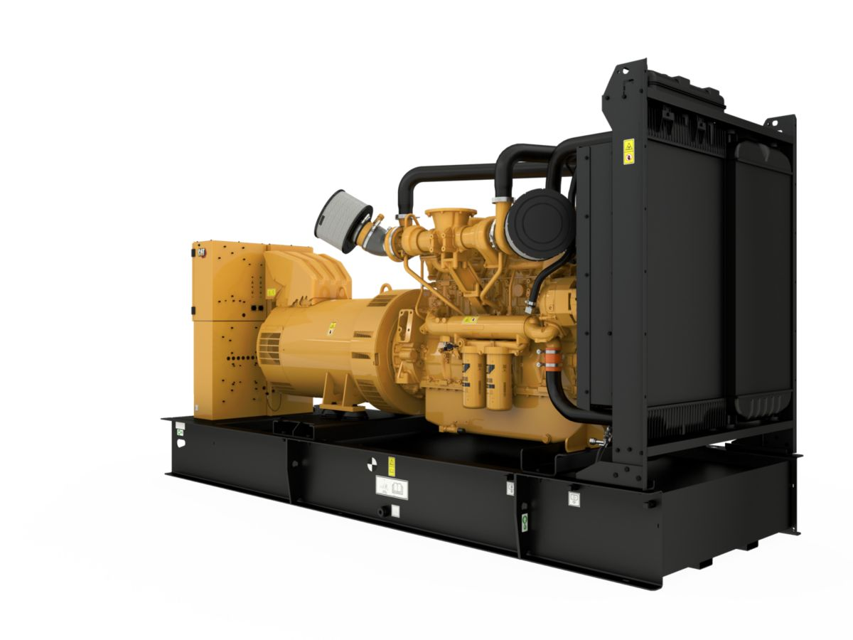 product-C18 generator set, Front Right