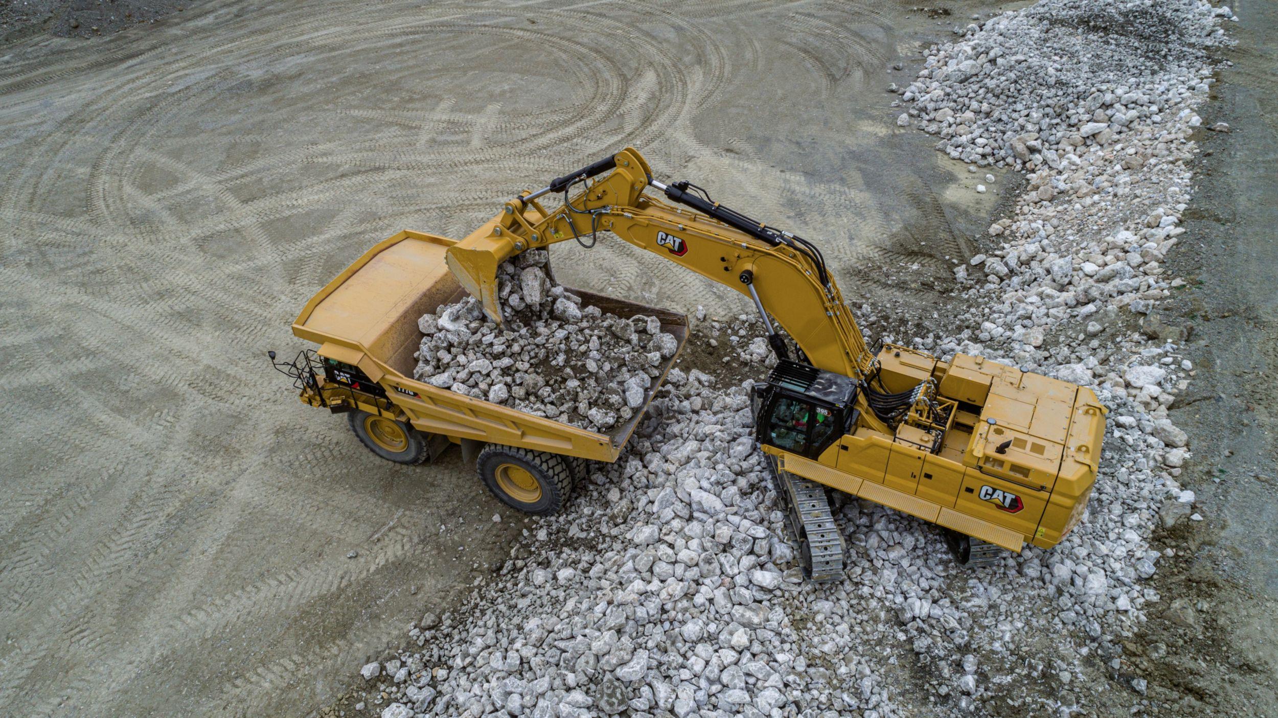 395 Hydraulic Excavator