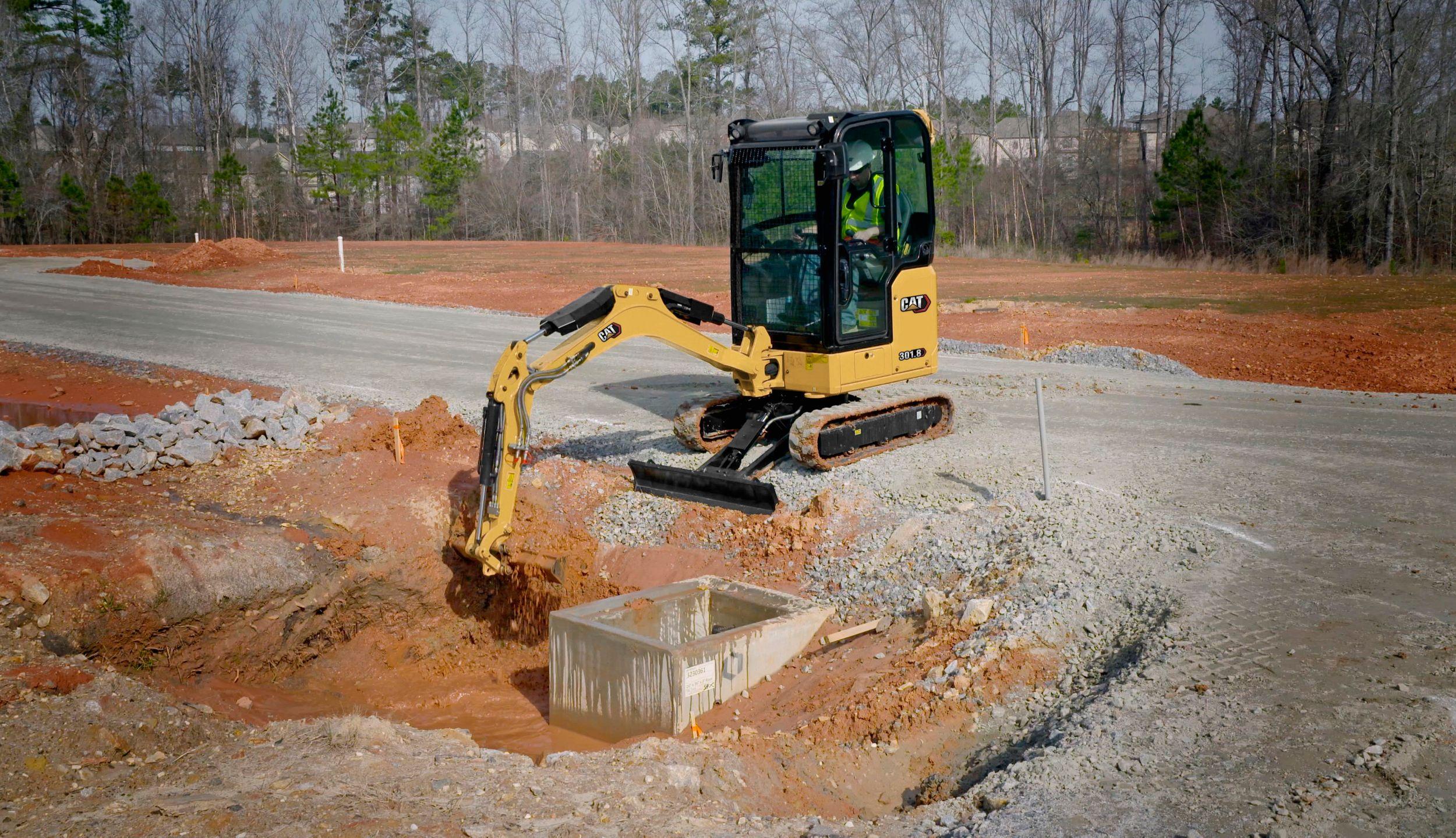 301.8 Mini Hydraulic Excavator>
