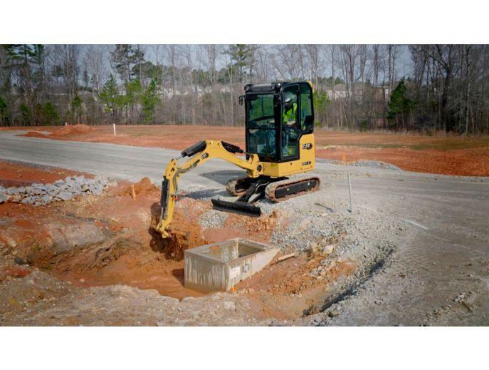 301.8 Mini Hydraulic Excavator