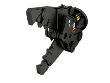 Foto del MP365 con mandíbulas de demolición