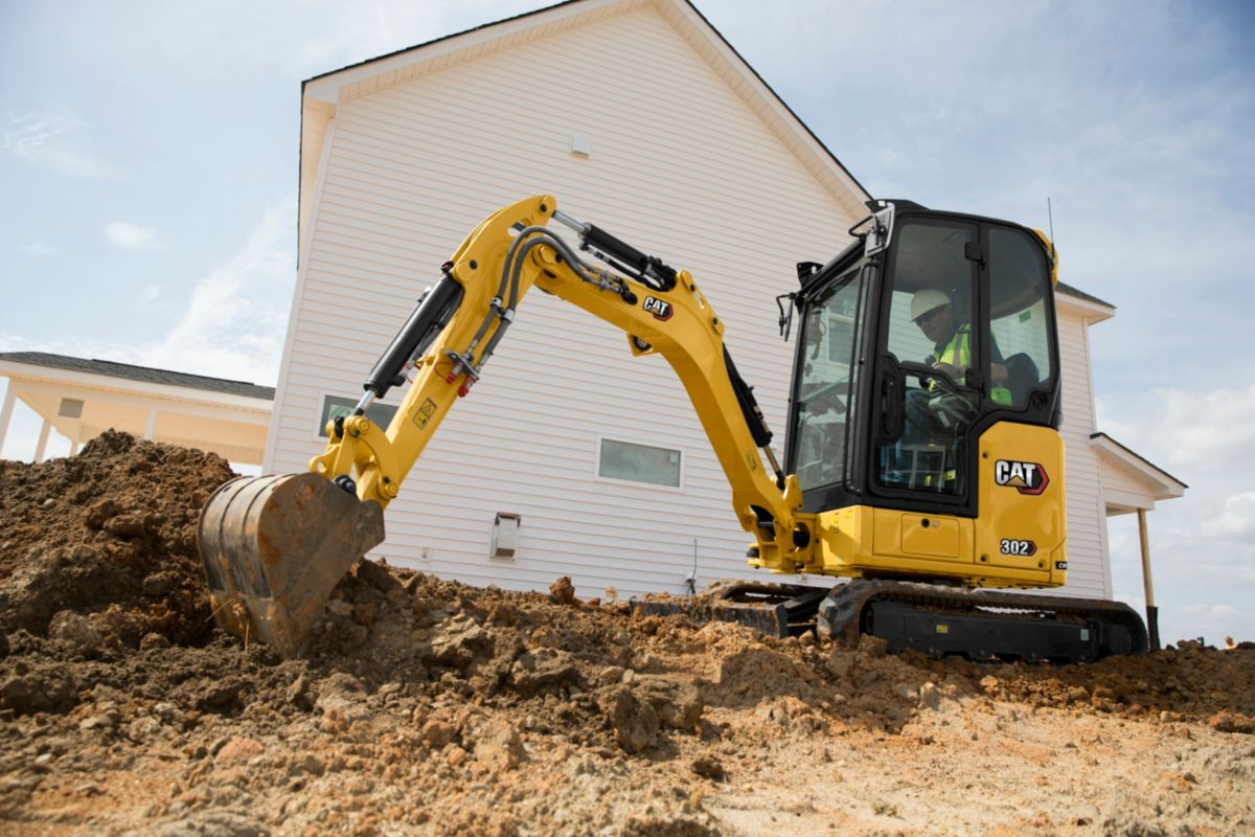 302 CR Mini Hydraulic Excavator>