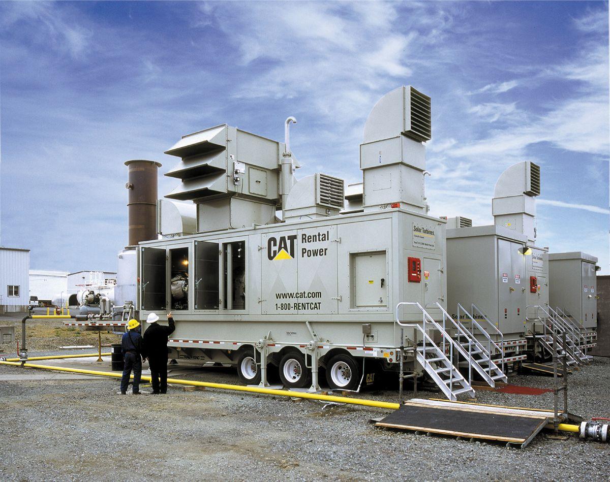 Caterpillar power units in Brazil, 2001.