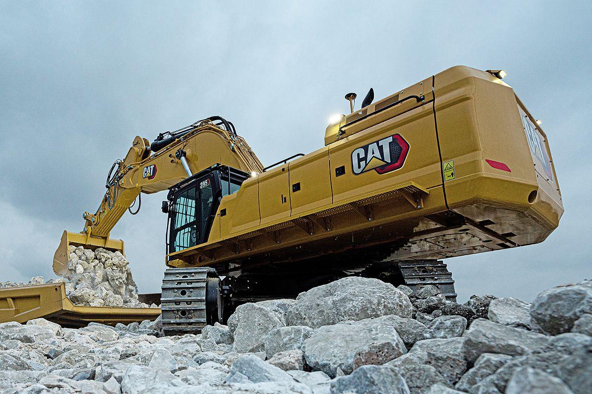 Cat 395 Hydraulic Excavator