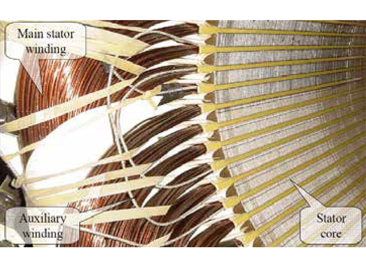 Low Voltage Stator Winding