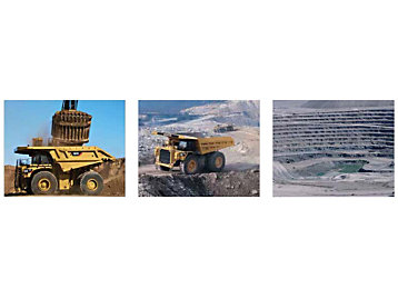 Caterpillar 797 Mining Application
