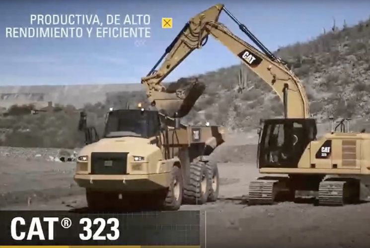 Escavadeiras, com Maurício Briones. Caterpillar, máquinas, tecnologia, especialistas