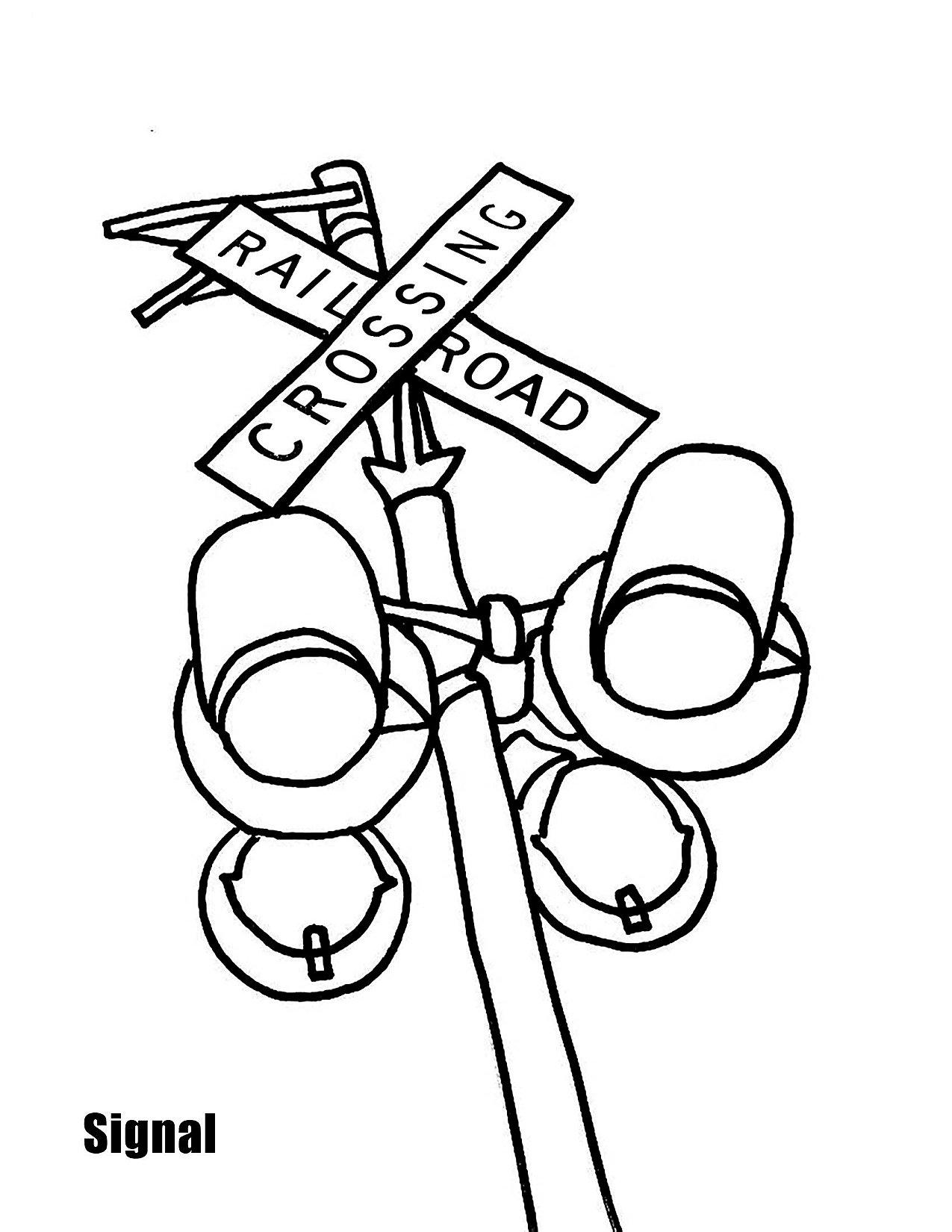 Progress Rail Coloring Book