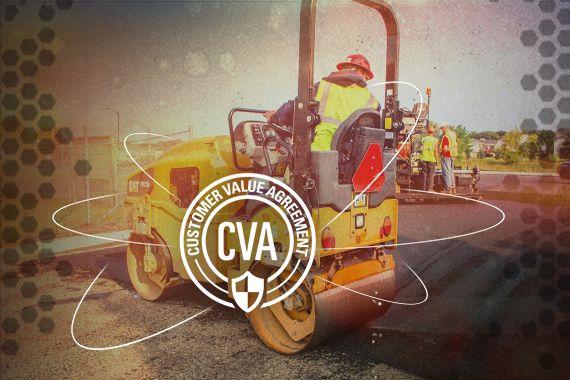 CB24B small roller CVA