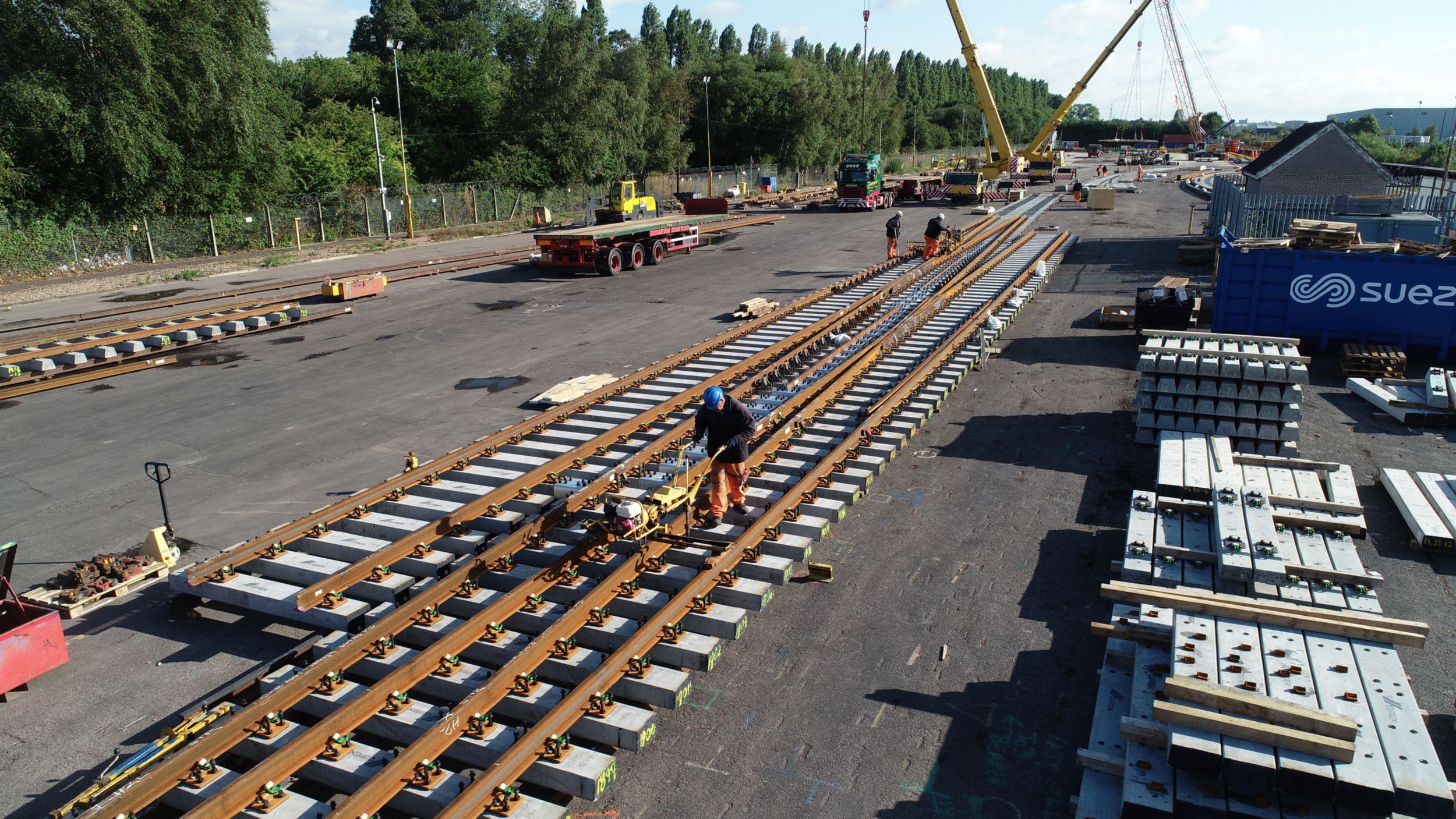 Beeston trackwork assembly