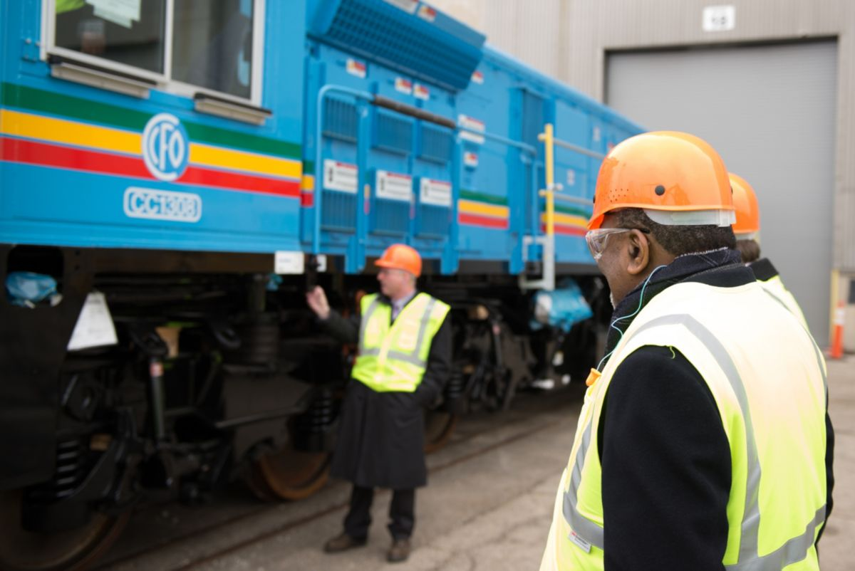 Electro-Motive Diesel and Locomotive Company (Pty) Ltd (EMDLC), headquartered in Pretoria, South Africa