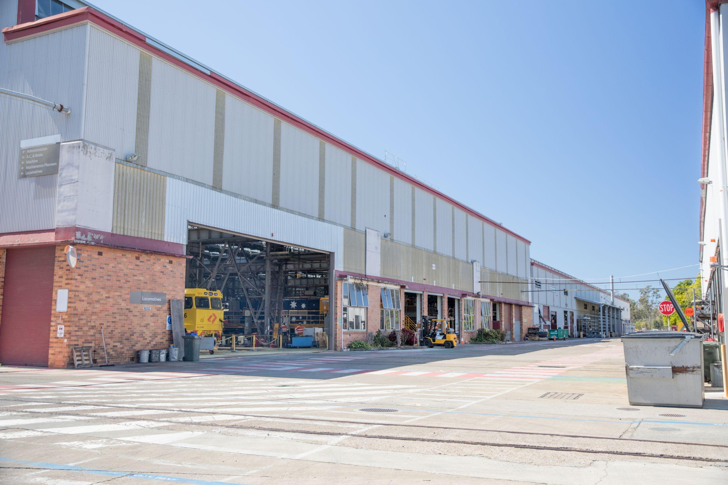 Locomotive Repair, Locomotive Leasing, Locomotive Manufacturing