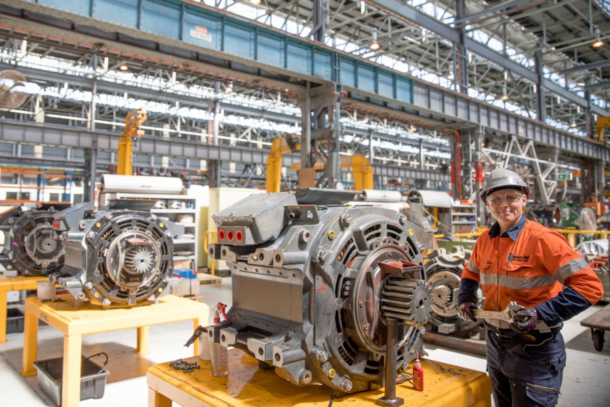 Traction Motor Remanufacturing