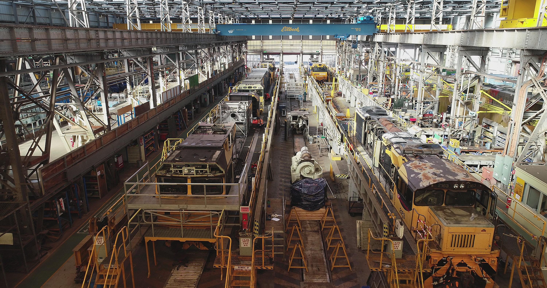 Redbank Locomotive Repair Facility