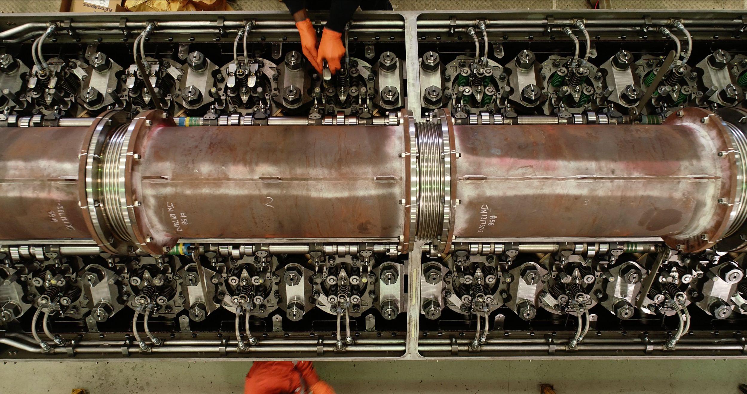 Engine Remanufacturing, EMD Engines, Engine Rebuild