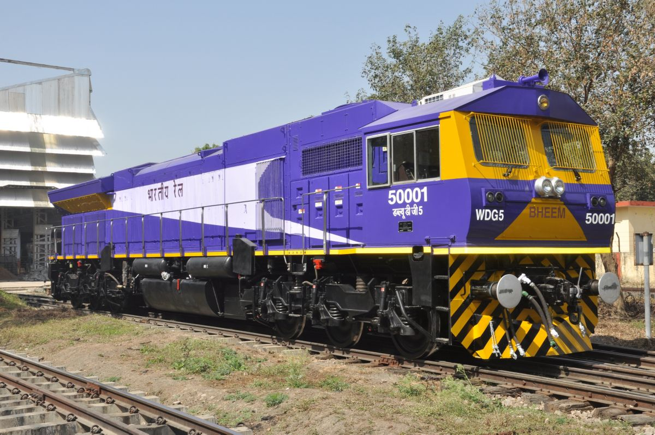 GT50AC EMD Locomotive Asia India
