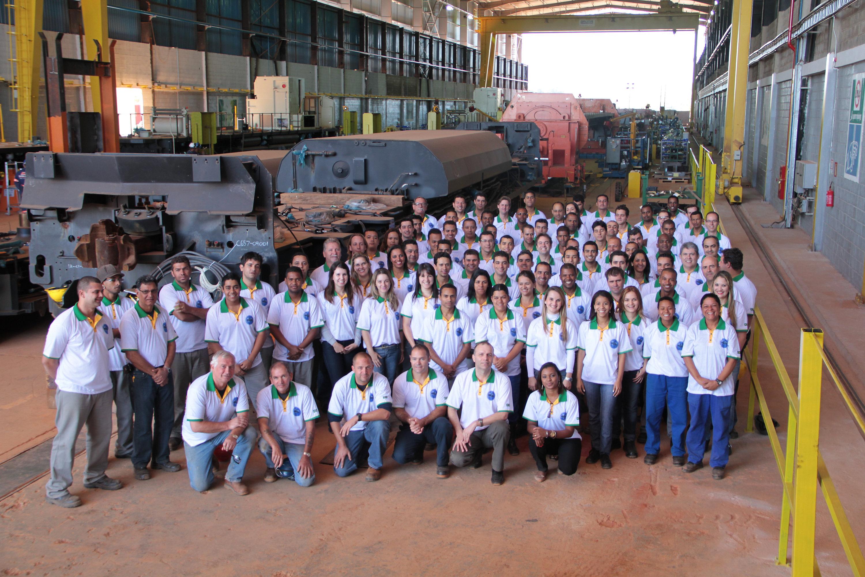 Brazil locomotive manufacturing facility, Sete Lagoas, Brazil