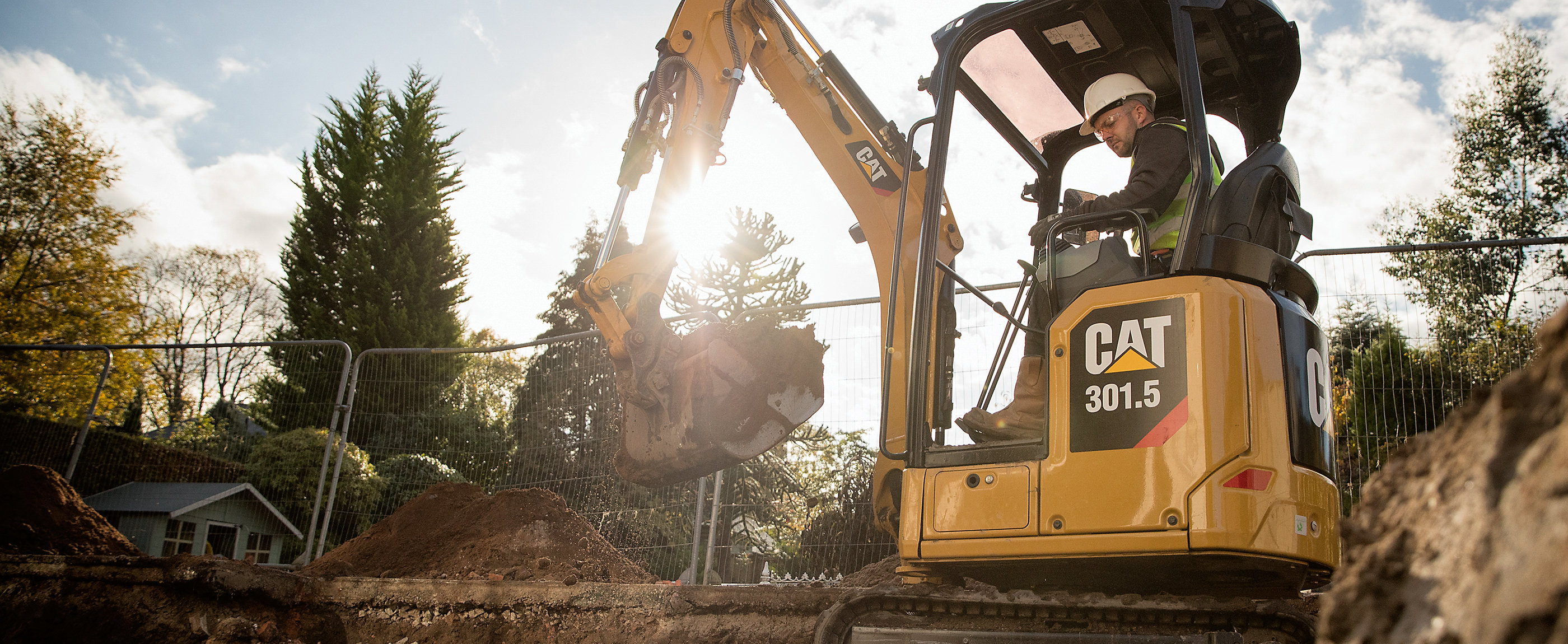 Cat®️ Next Generation Mini Excavators bring big machine features standard across all models