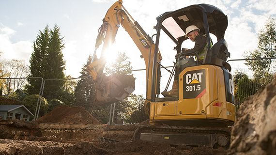 Next Generation Mini Excavator