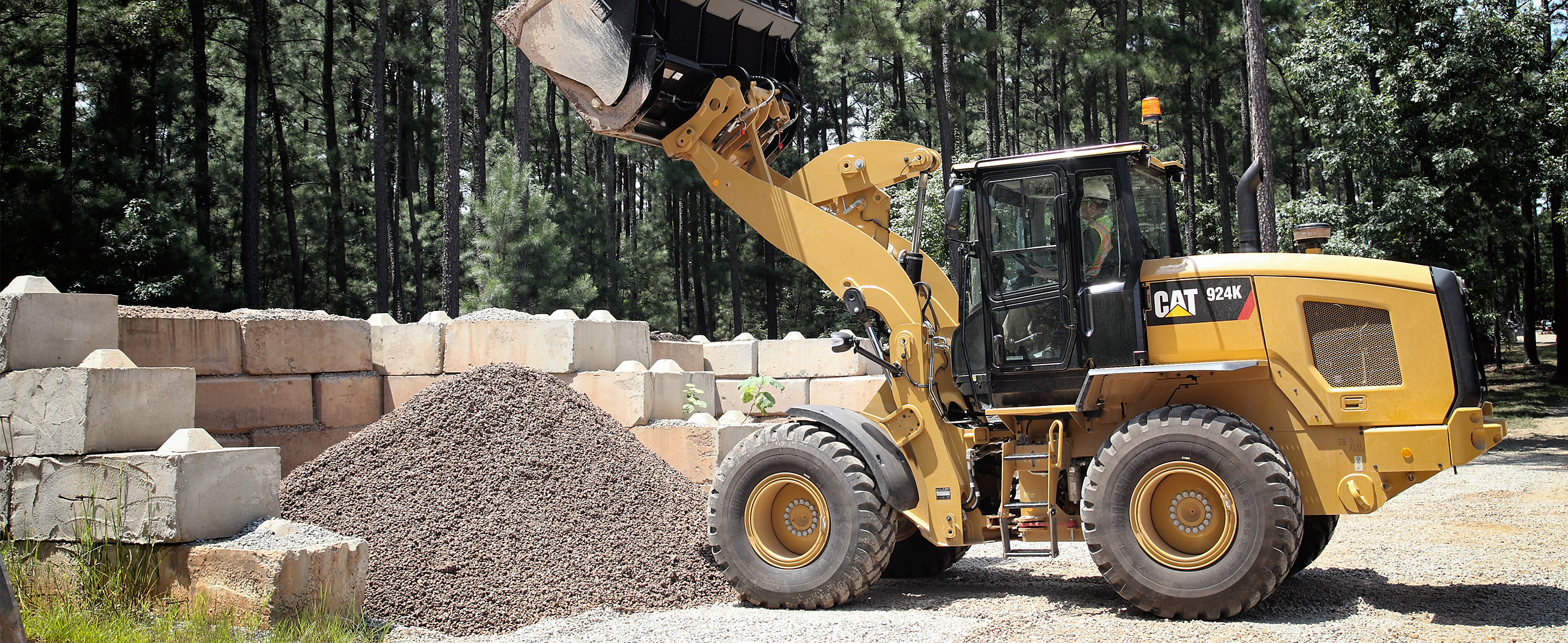 Cat® K Series small wheel loaders have been designed to be class leaders.