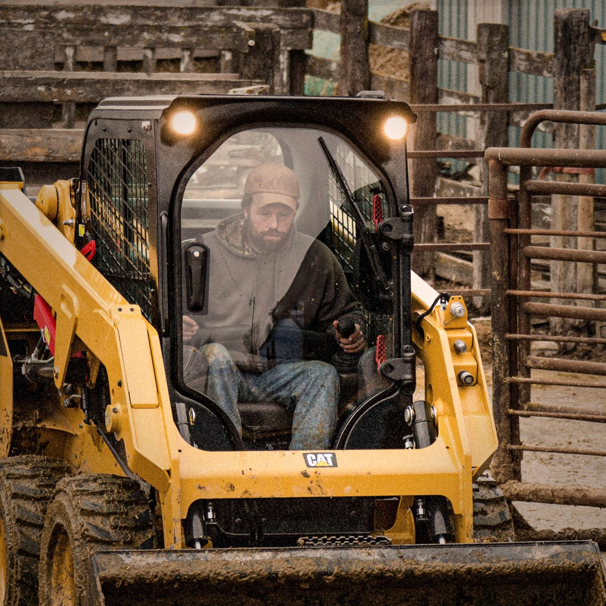 Ease-of-use and operator comfort are focal points on the new Cat® D3 Series Skid Steer and Compact Track Loaders.