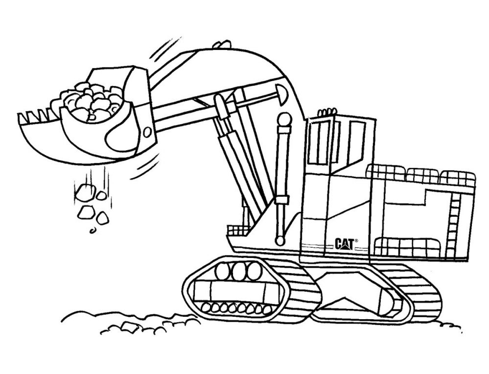 Pail And Shovel Coloring Page - Coloring Home   764x999