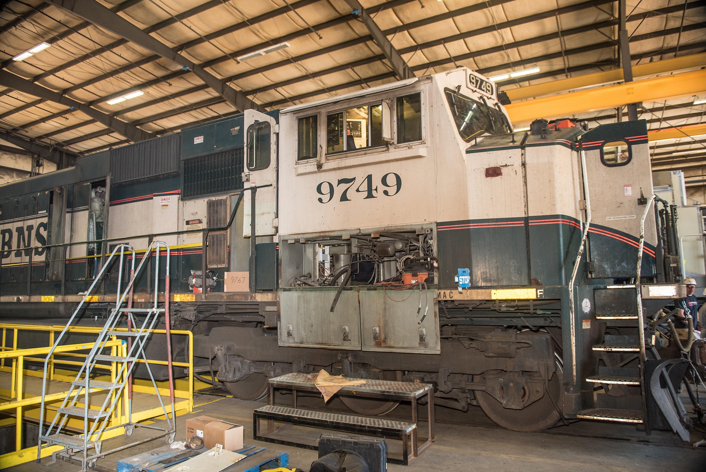 Locomotive Remanufacturing, Tacoma, Washington