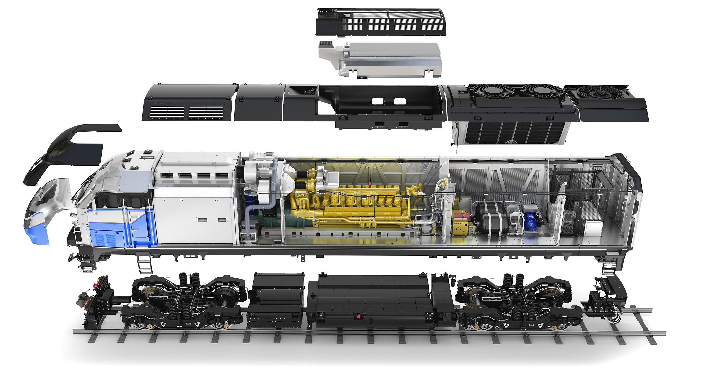 Locomotive Components, Locomotive Parts, EMD Parts