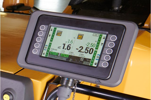 Cat PM310 grade and slope controls