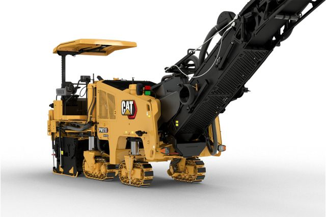 Cat PM310 track undercarriage system