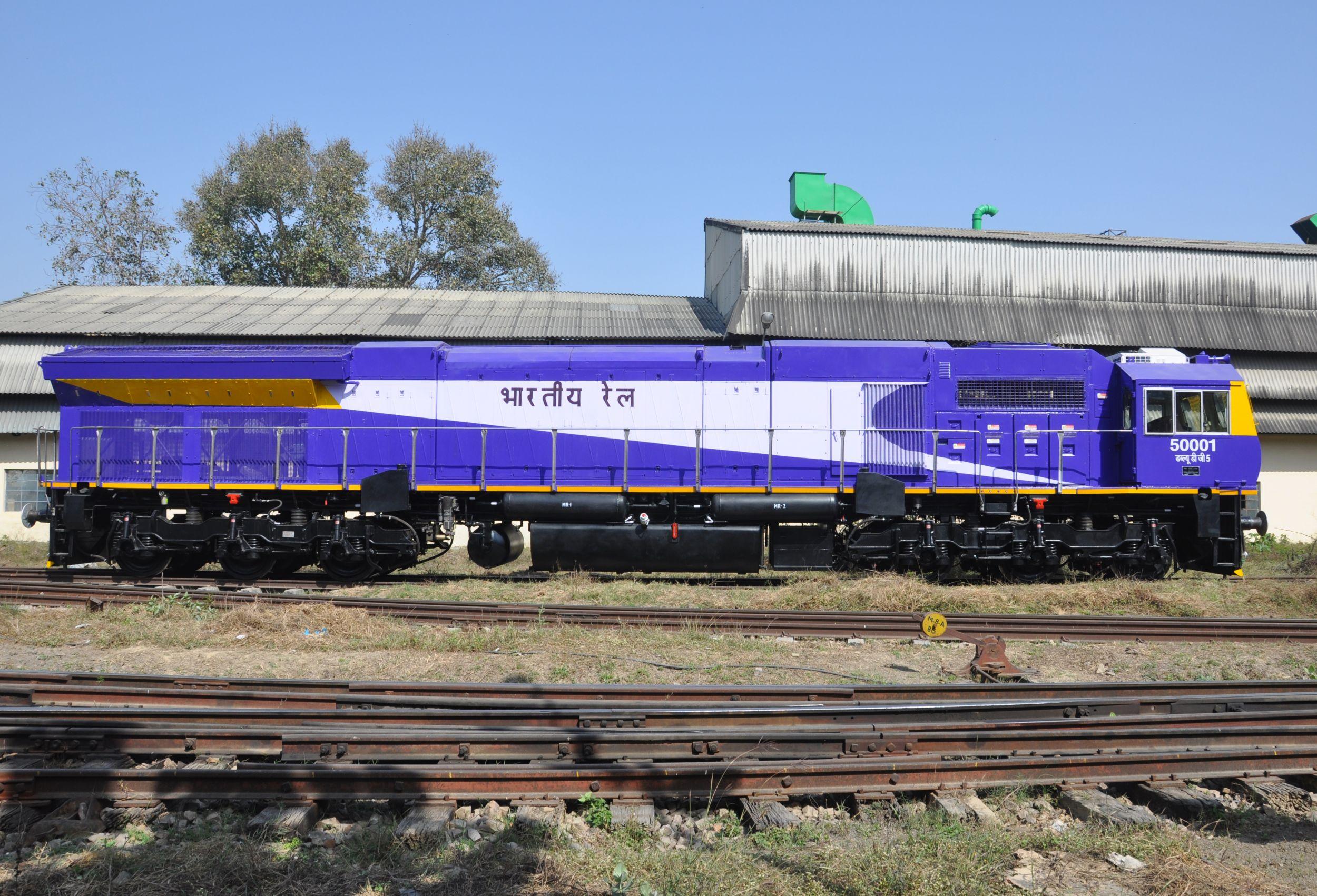 EMD GT50AC Asia India Locomotive