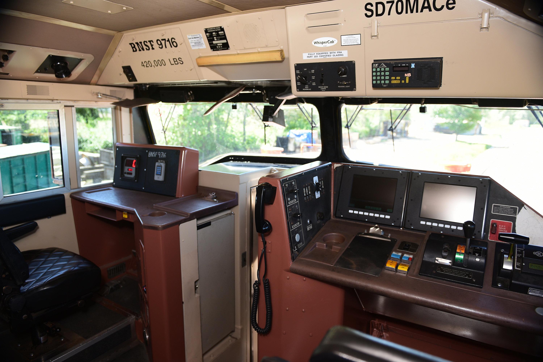 Repower Locomotive Interior
