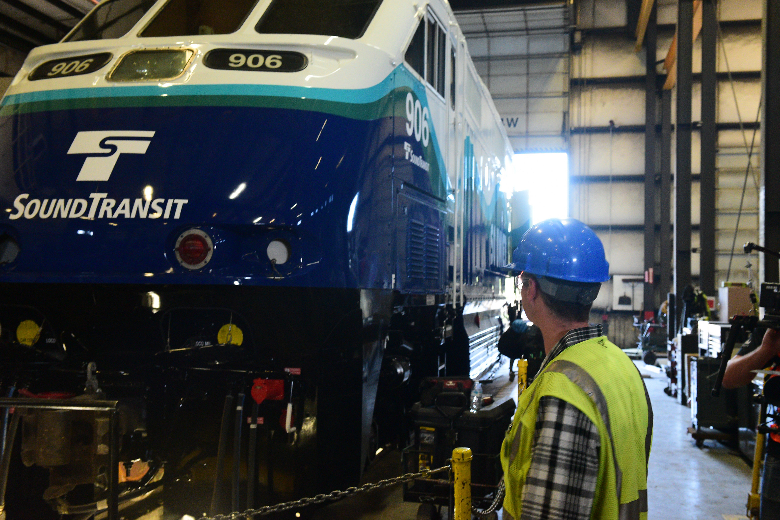 Sound Transit Repower Modernized Passenger Locomotive Repowered Locomotives