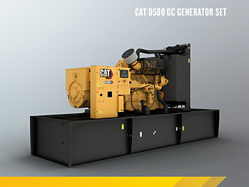 Cat C15 GC Open Genset