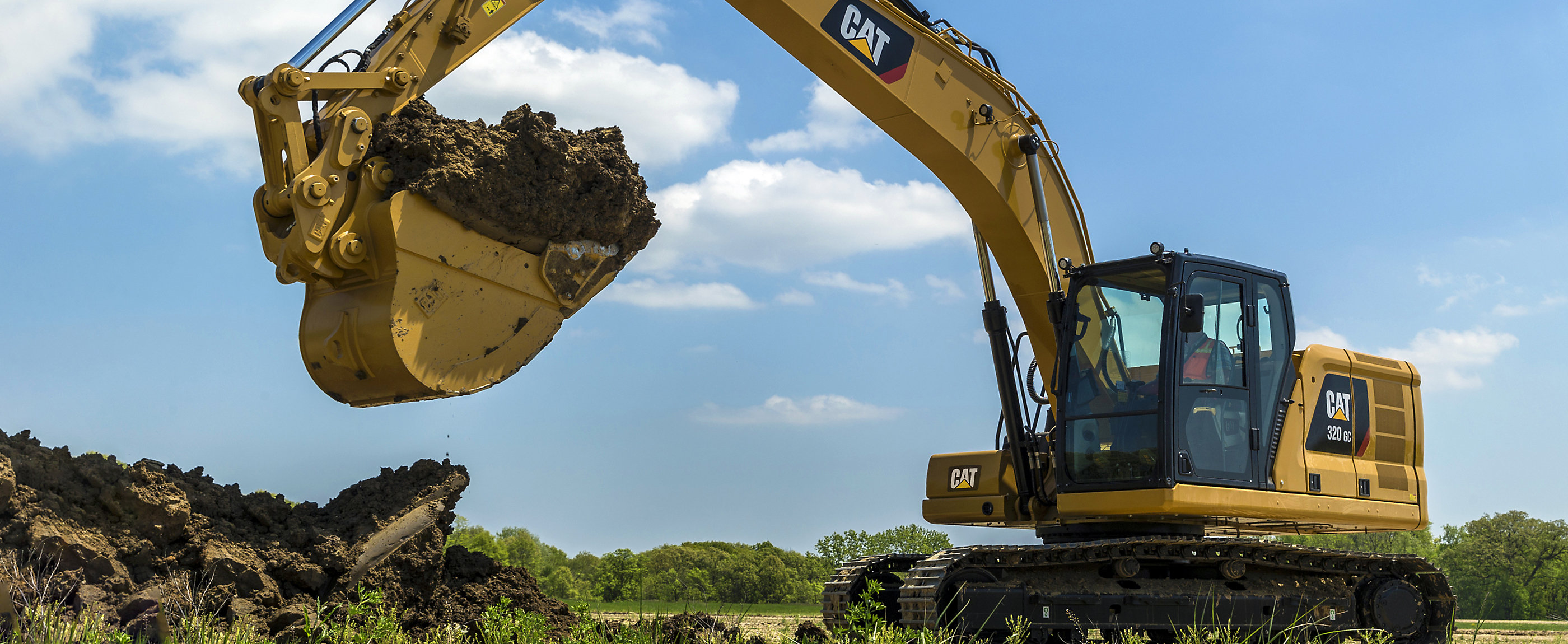 The GC range of machines is purpose-built to focus on the job at hand.