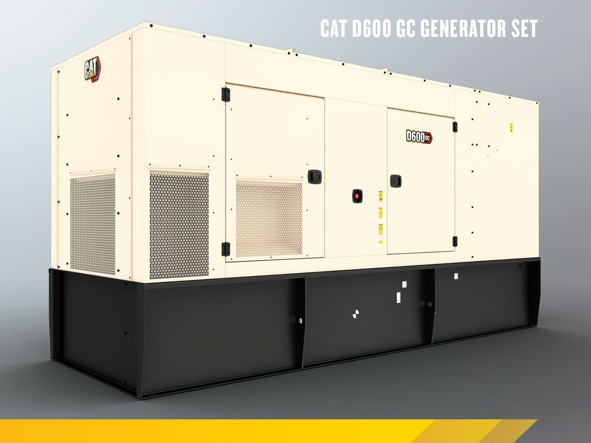 Cat C18 GC Enclosed Genset