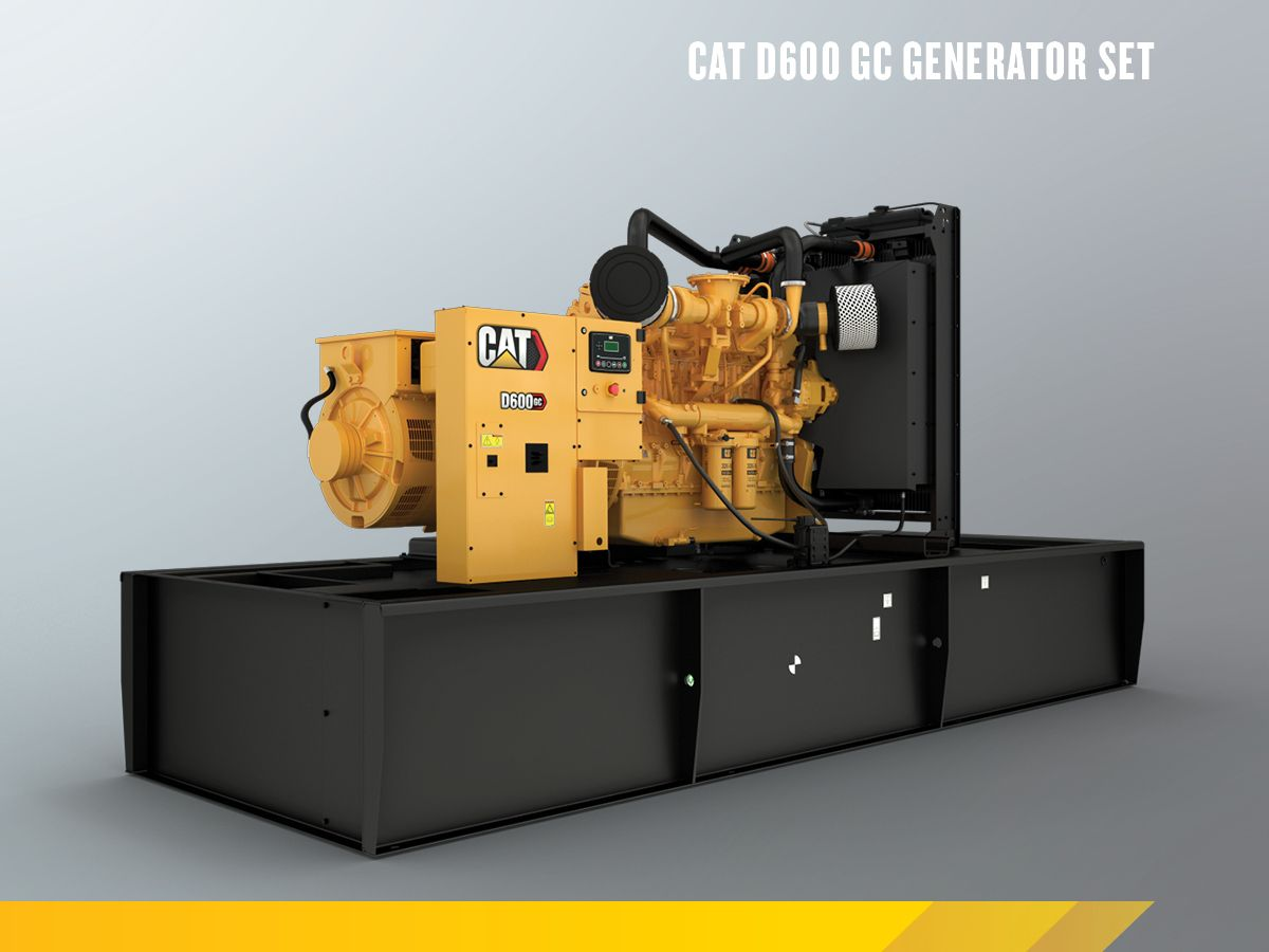 Cat C18 GC Open Genset