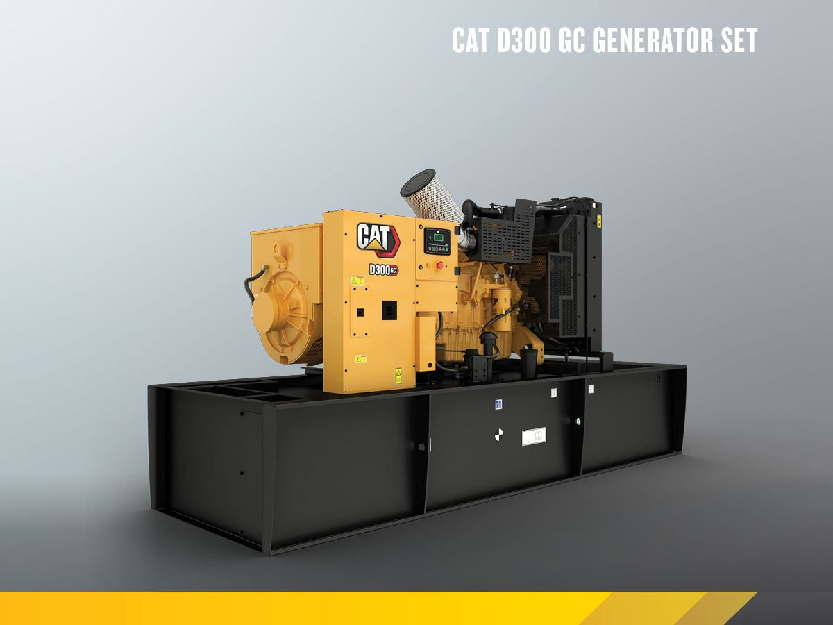 Cat C9 GC Open Genset