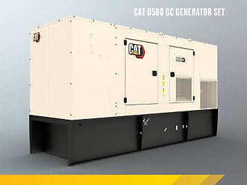 Cat C15 GC Enclosed Genset