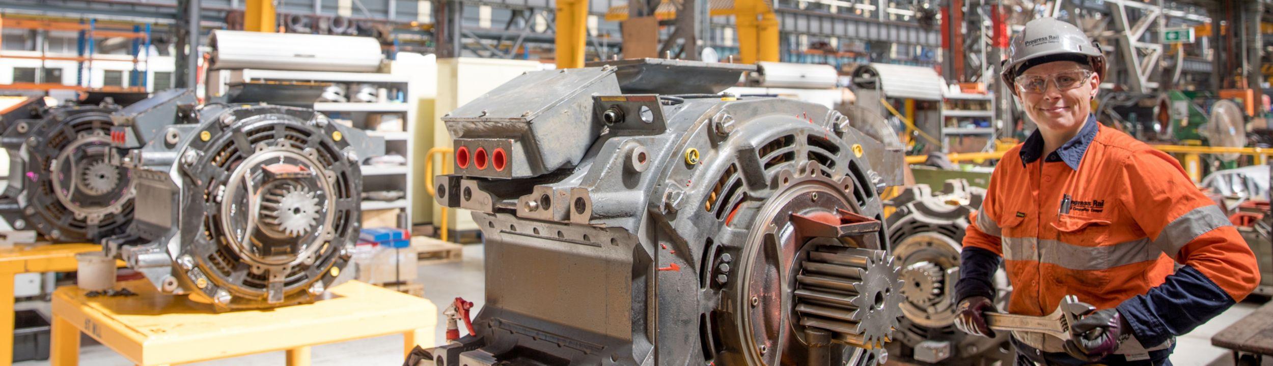 Locomotive Components, EMD Parts, Locomotive Parts