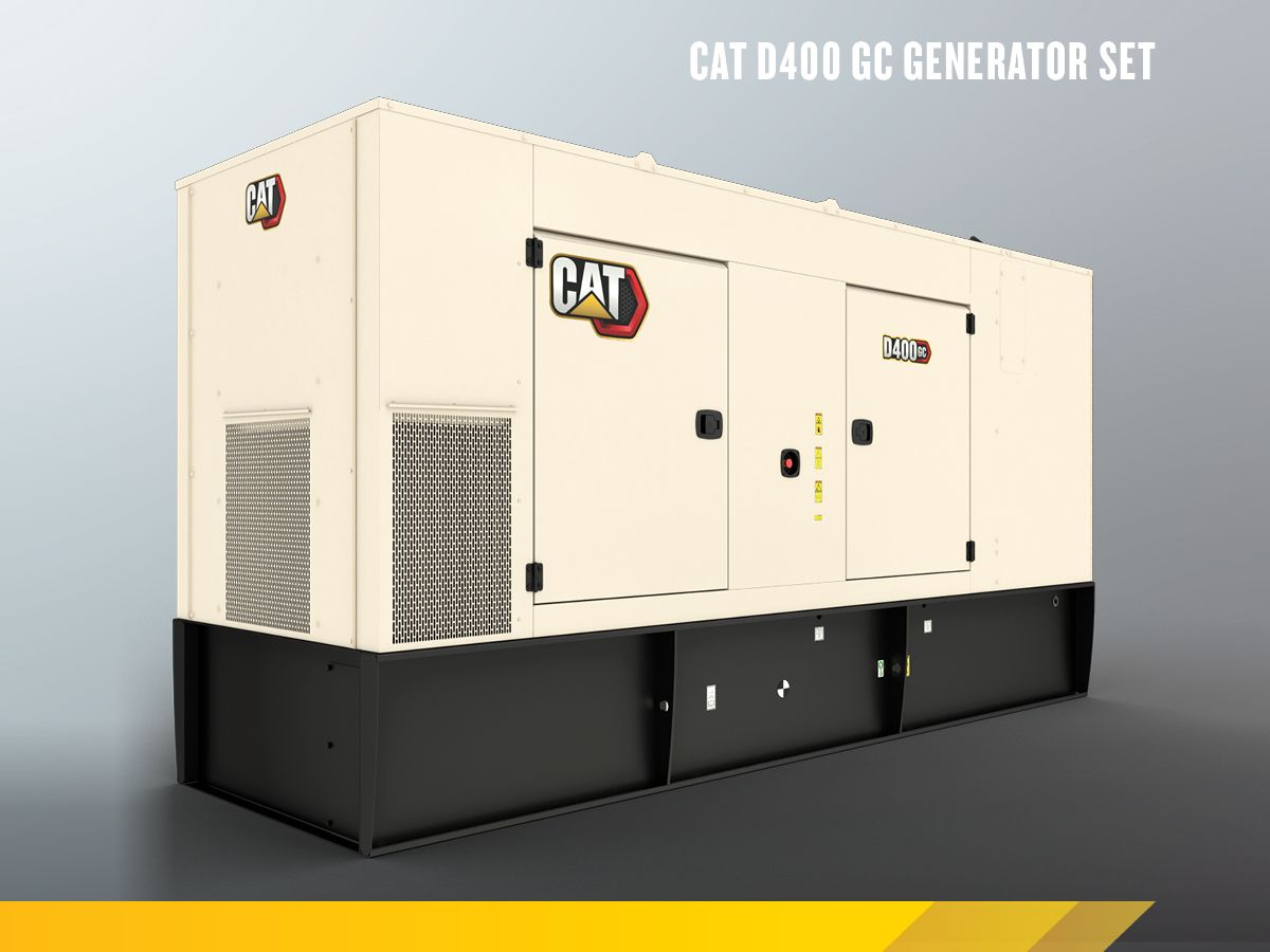 Cat C13 GC Enclosed Genset