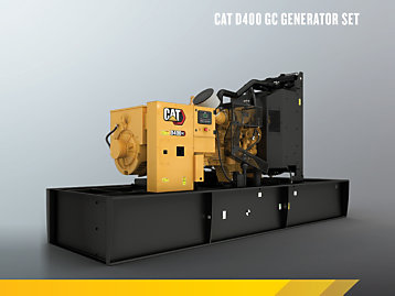 Cat C13 GC Open Genset