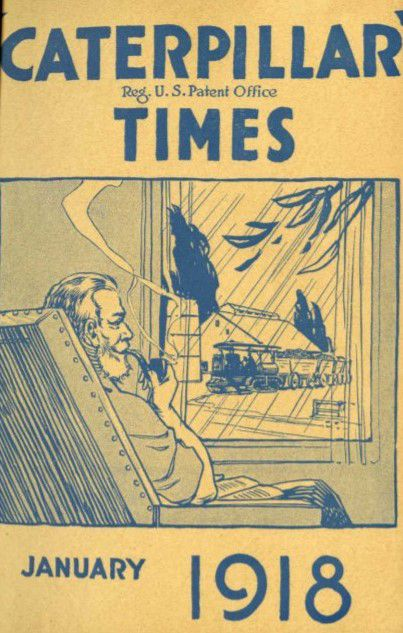The cover of Holt Time magazine, January 1918.