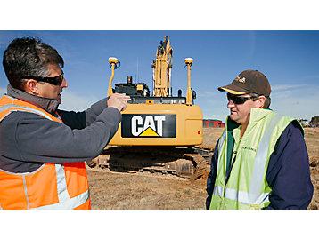 Mini Excavator digging