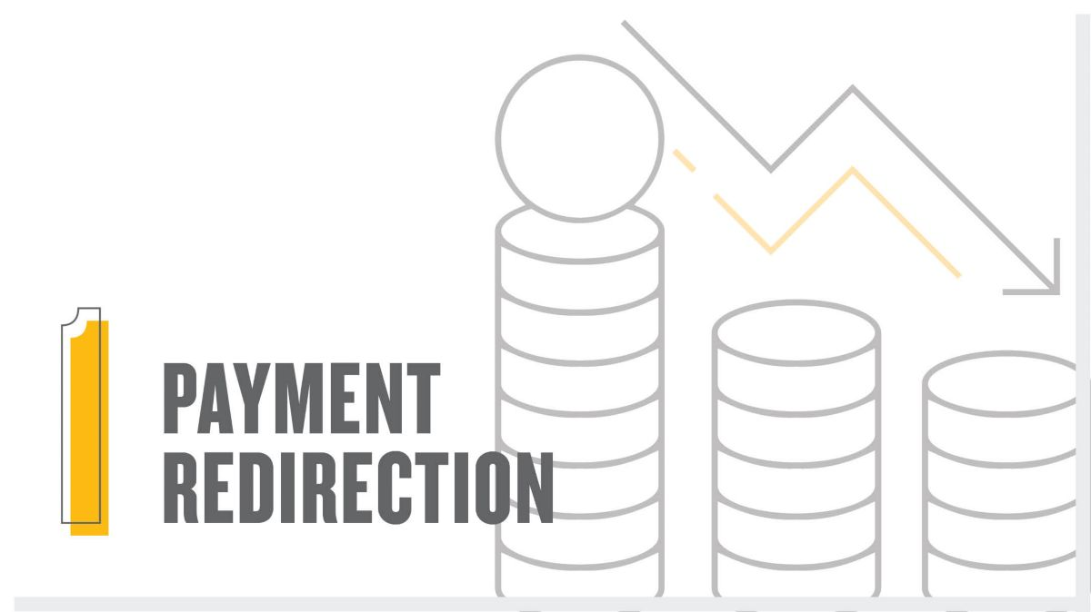 Payment redirection