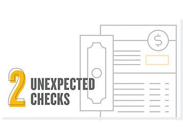 unexpected checks