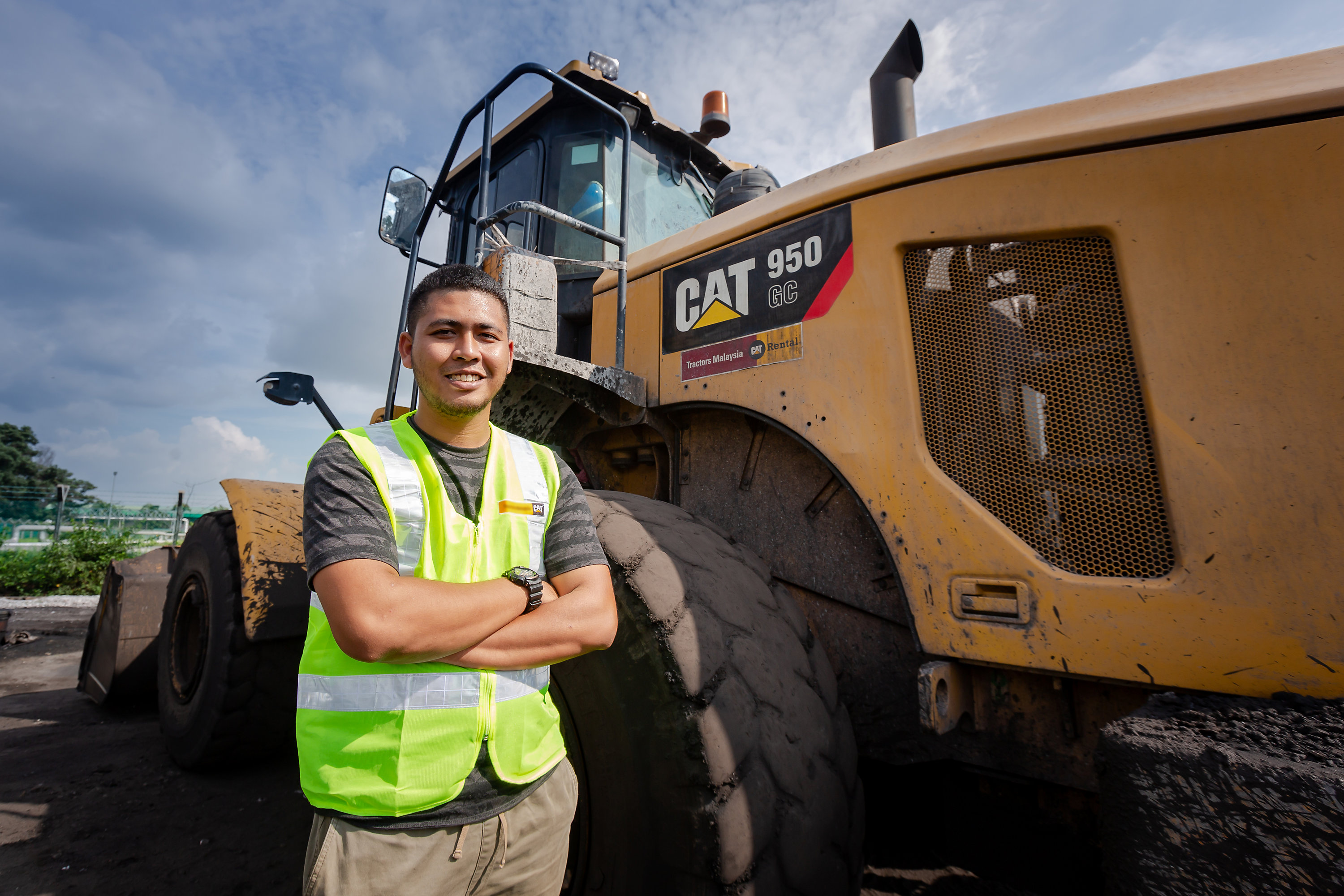 Caterpillar is here to support customers