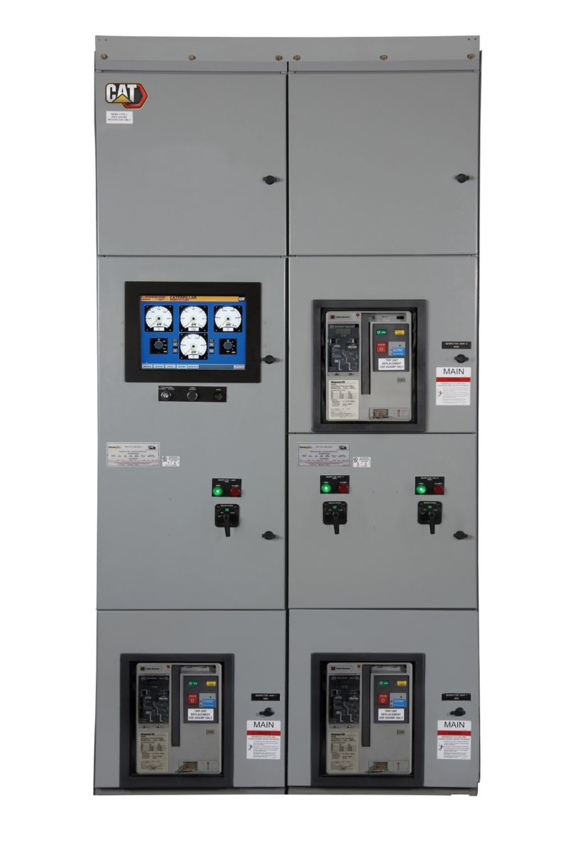 New Caterpillar Switchgear and Paralleling Controls
