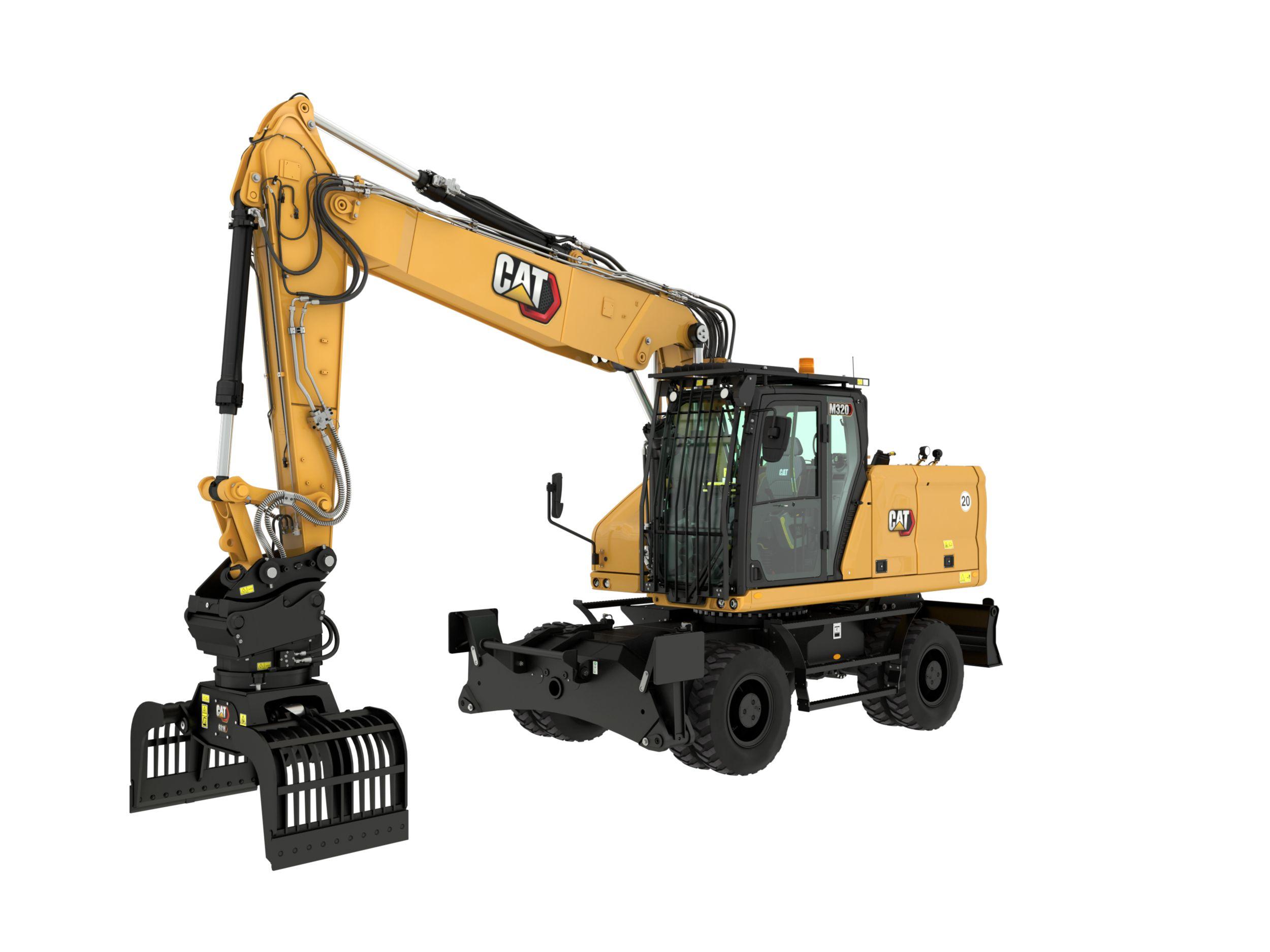 M320 Wheeled Excavator