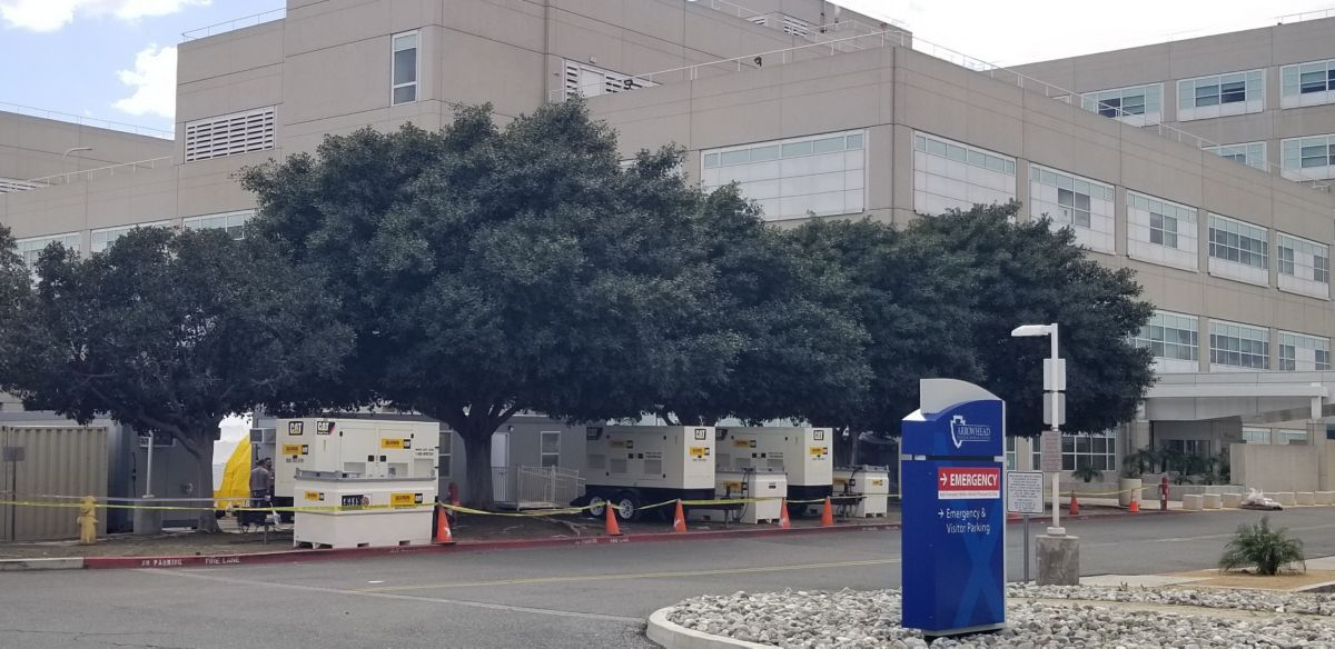 Cat Generator Sets keep hospitals up and running